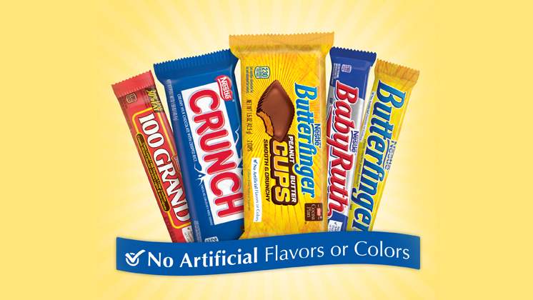 Artificial Flavors and Colors Removal