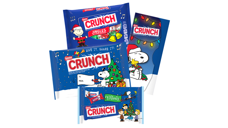 Peanuts® Characters and Nestlé® Crunch®