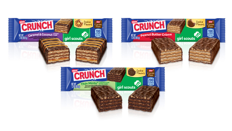"Nestlé® Crunch® Celebrates Girl Scouts Of the USA By Launching ""Let's Get Her To Camp"""