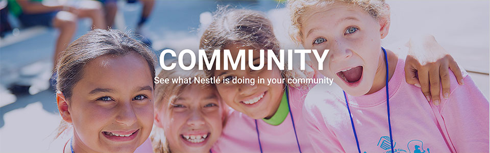 Nestlé USA Community Engagement