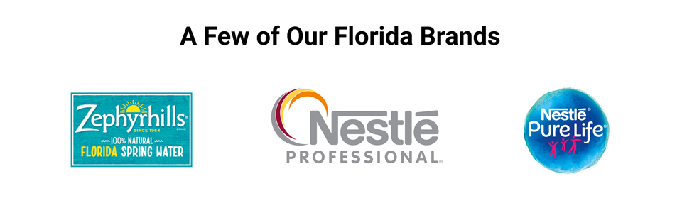 Nestlé USA brands produced in Florida