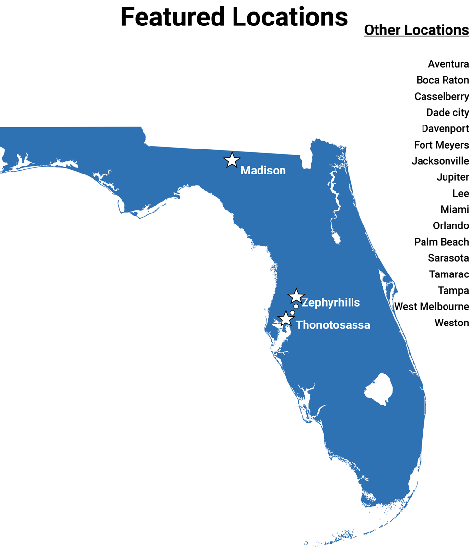 Nestlé locations in Florida