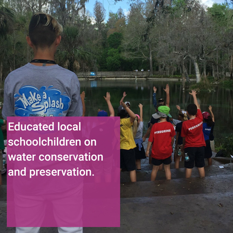 Water Conservation Education Volunteer Event