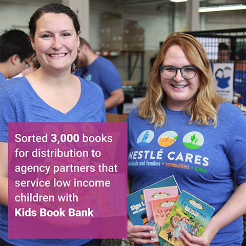 Kids Book Bank Volunteer Event