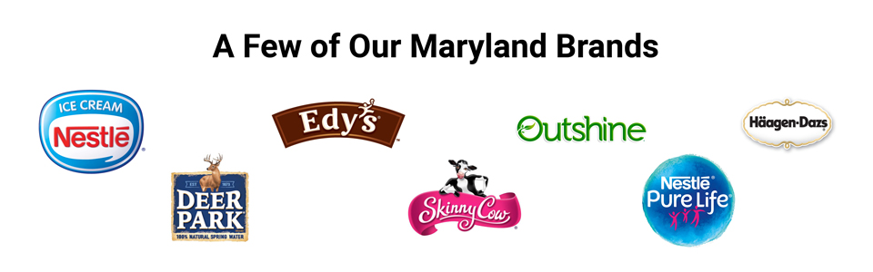 Nestlé brands produced in Maryland
