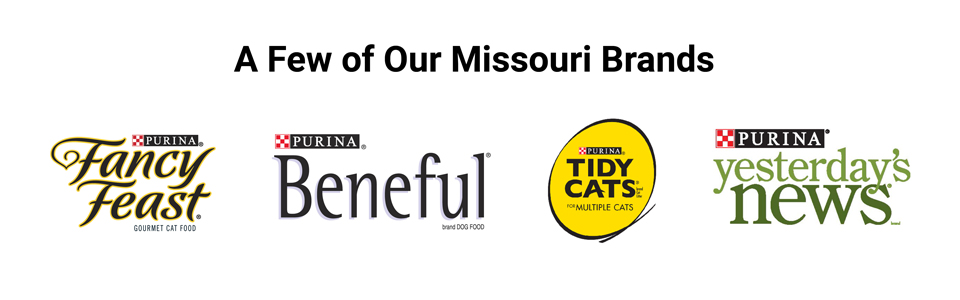 Nestlé brands produced in Missouri