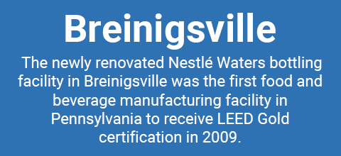 Nestlé USA Breinigsville location