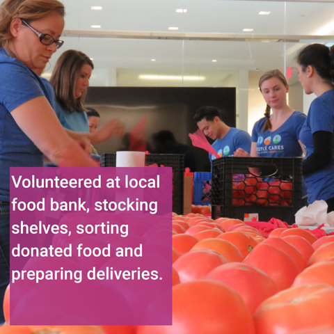 Food Bank Volunteer Event