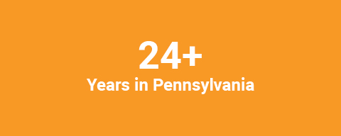 Years in Pennsylvania