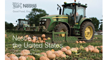 Nestlé in the U.S. Releases 2014 Creating Shared Value Report