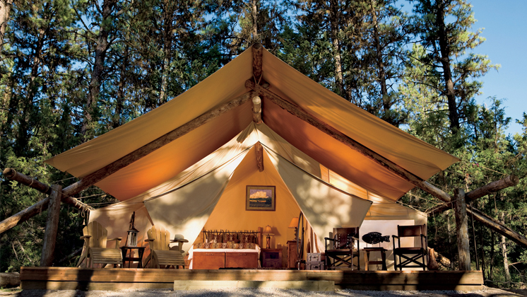 "Glamping Experience Is Grand Prize In Skinny Cow's ""Girls Gone Glamping"" Giveaway"