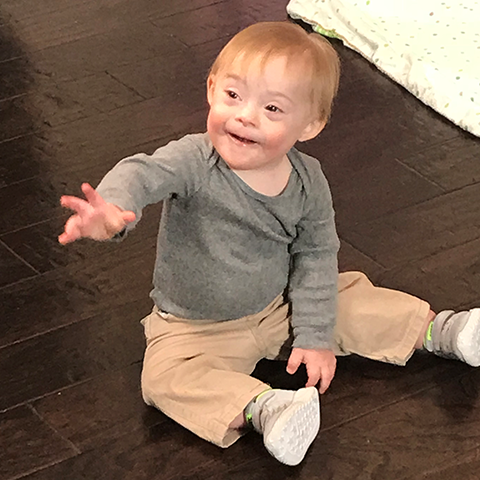 Lucas is named Gerber's 2018 Spokesbaby