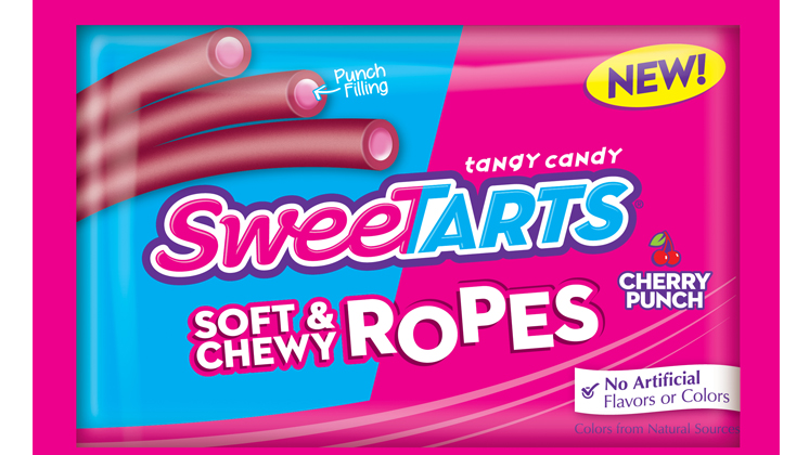 SweeTARTS Launch SweeTARTS Ropes